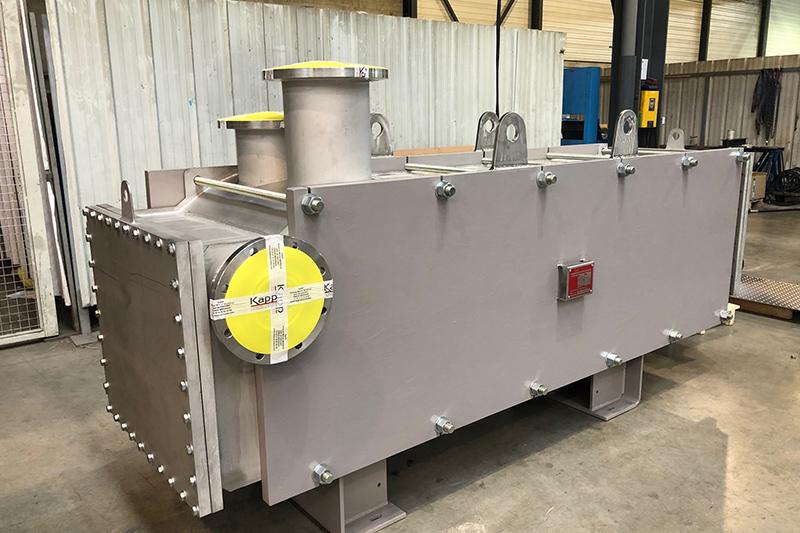 Application Traitement d'eau: fluides chargés