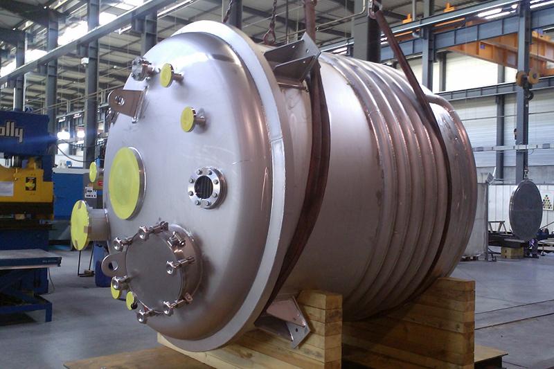 Réacteurs coquillés ou cuves